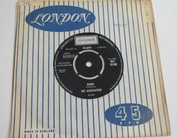 "Association ( The )  WINDY 1967 UK 7"" RARITY VG+ AUDIO"